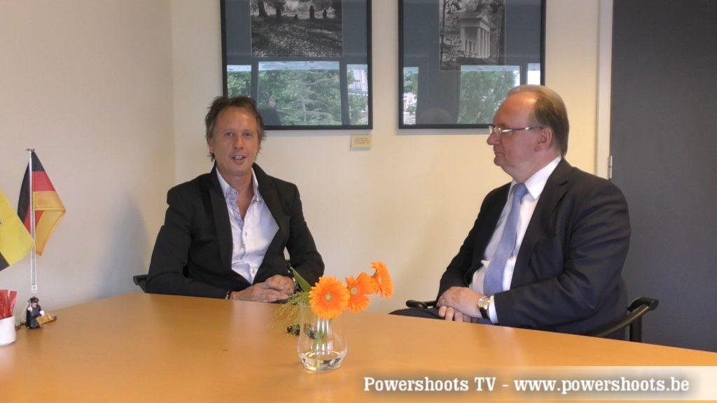 Reiner Haseloff on Powershoots TV