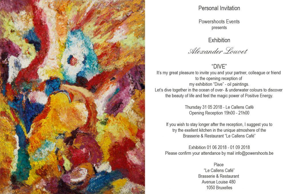 """Powershoots Events - Exhibition """"Dive"""""""