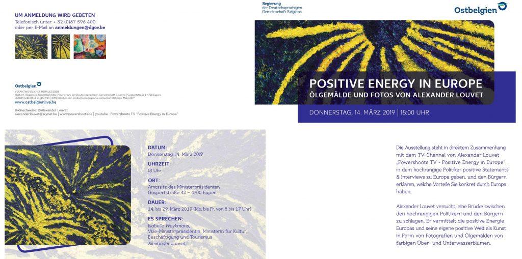POWERSHOOTS - EXHIBITION - Regierung der Deutschsprachigen Gemeinschaft Belgiens - Europa.blog