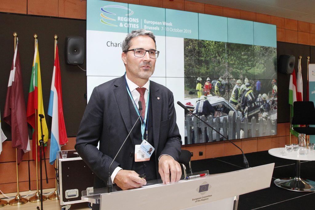 Südtirol : Besuch Landeshauptmann Arnold Kompatscher in Brüssel 08 & 09 10 2019