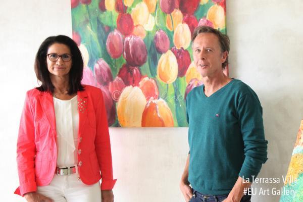 Lydia Lentz & Alexander Louvet EU Art Gallery